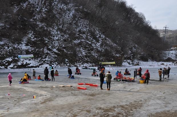 겨울 레포츠 체험장