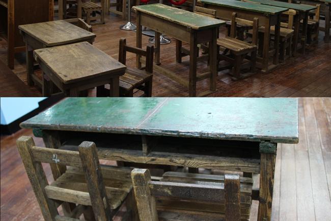 교실 책상