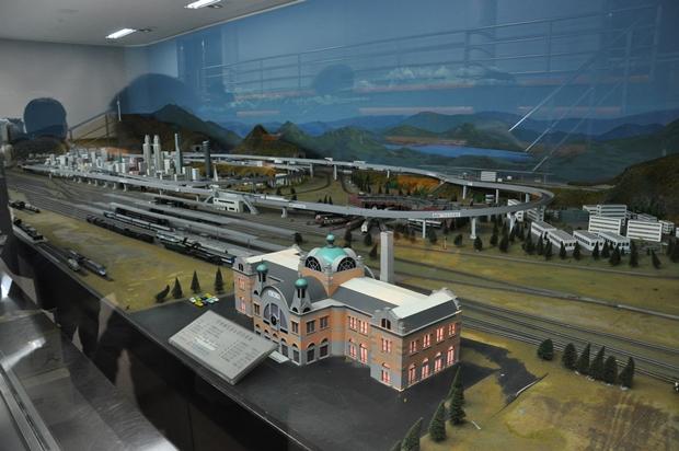 철도모형 파노라마실