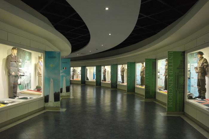 유엔 참전국  유물 및 자료 전시관
