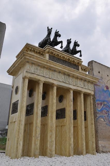 브란덴브루크문 모형