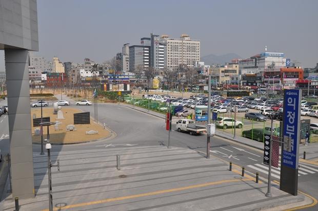 2014년 3월 말 공원 모습