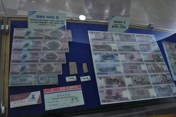 북한 화폐와 교통 이용권