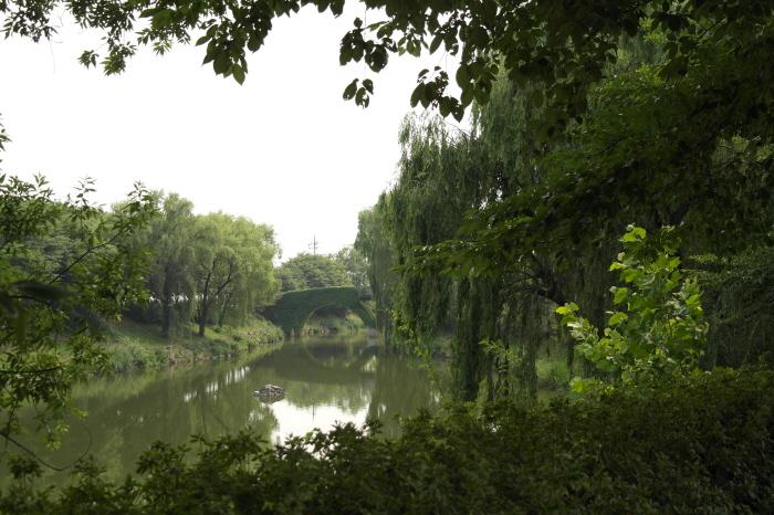 호수 다리