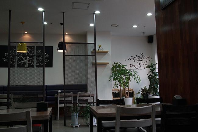 음식점 내부모습