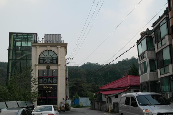 황금산문화공원 길