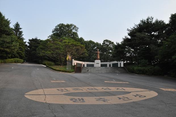 권율 도원수 동상