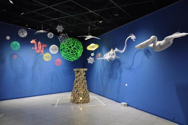 박호걸 작 'Park Sphere and Cosmos'
