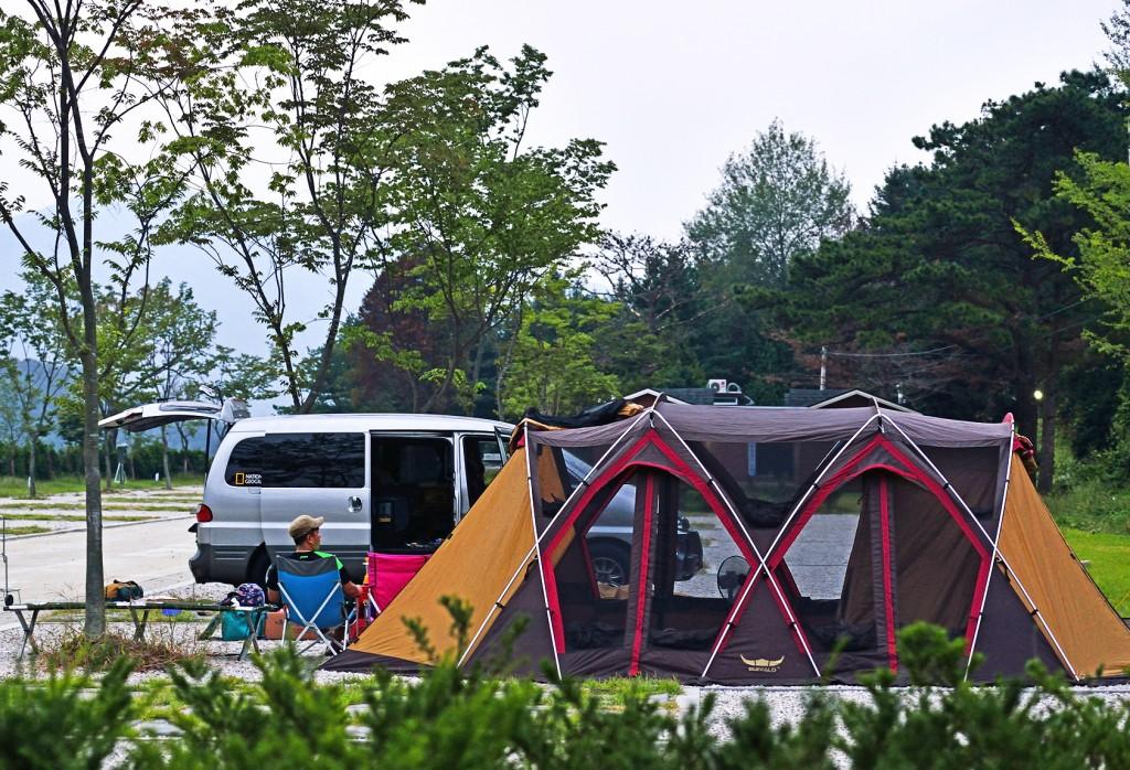 산정호수주변(비둘기낭폭포 캠핑장)