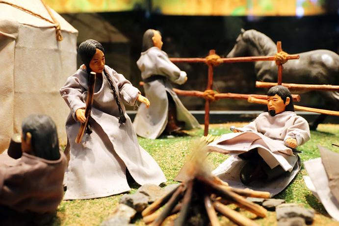 몽골의 생활상을 보여주는 민속유물