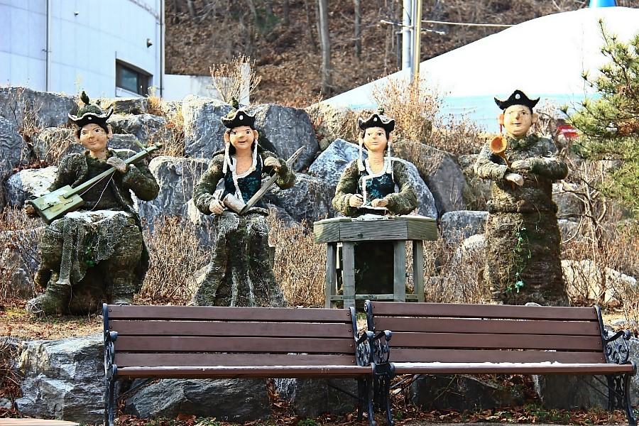 남양주 몽골문화촌 야외전시작품