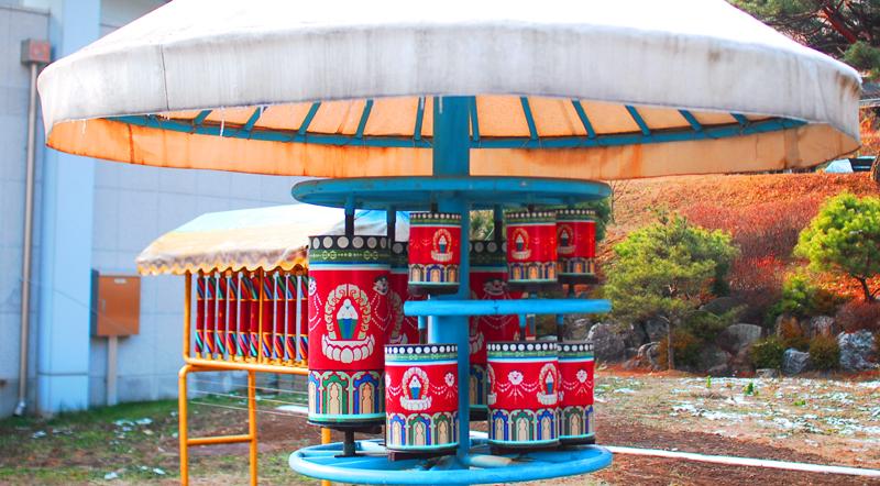 몽골 느낌의 구조물