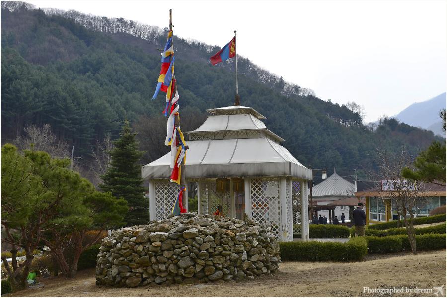 몽골문화촌 전경