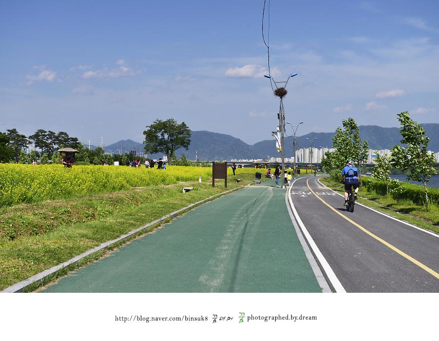 산책로와 자전거도로