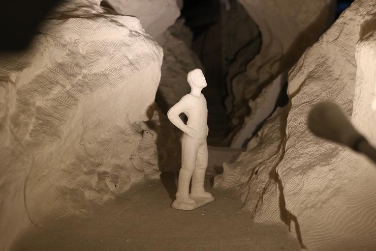 내부를 축소한 모형