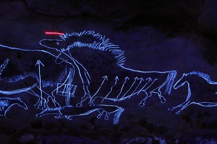 어두울때의 동굴벽화