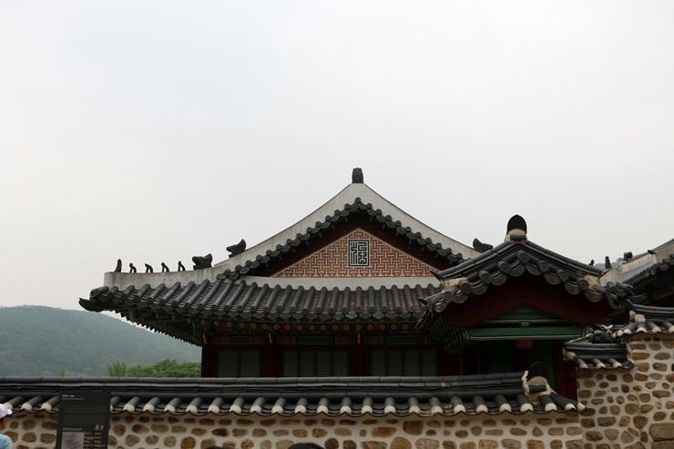 남한산성의 지붕