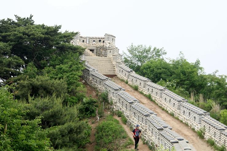 남한산성의 모습