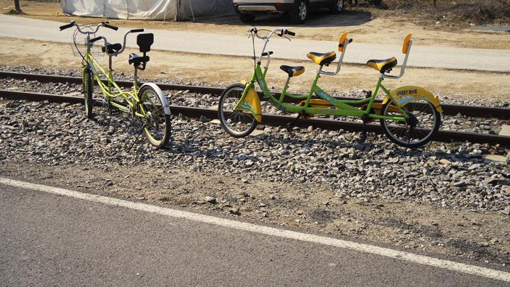 2인용 자전거