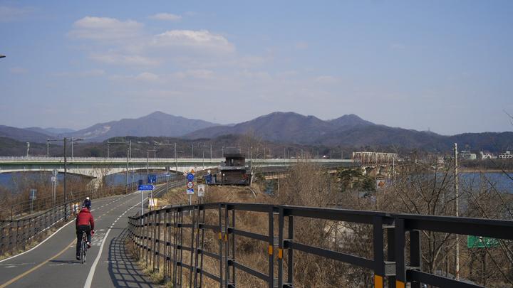 북한강철교 주변
