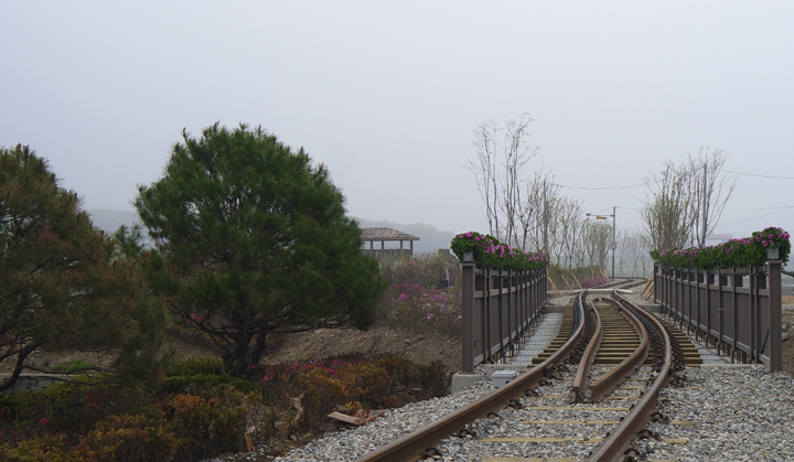의왕 레일바이크 철로