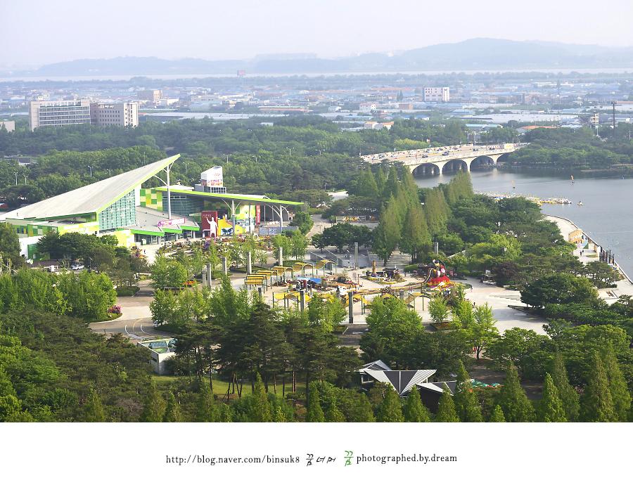 일산 호수공원 전경