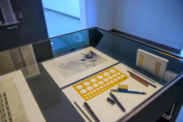 설계 도구 전시품