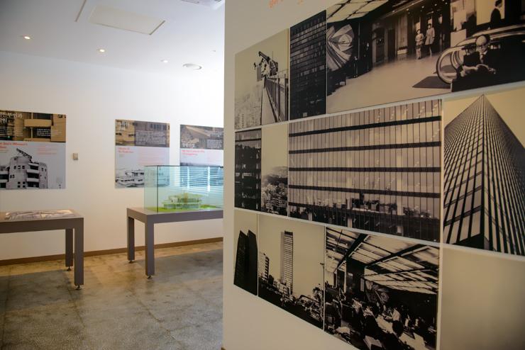 김중업이 설계한 건물 흑백사진
