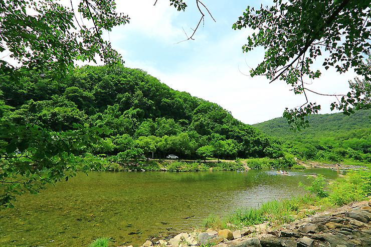 계곡 사진