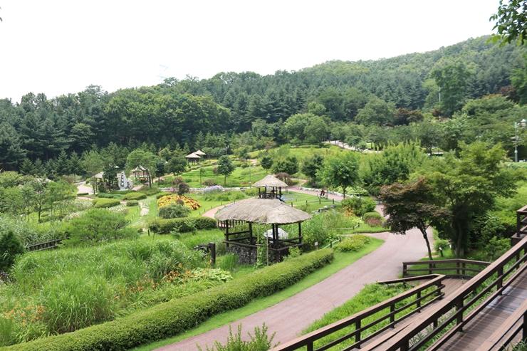 용인농촌테마파크 전경