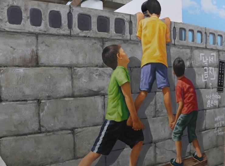 골목길의 아이들