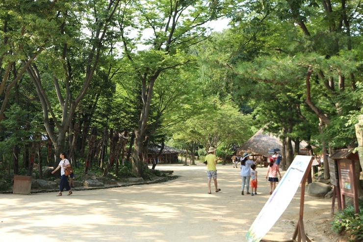 민속촌 풍경