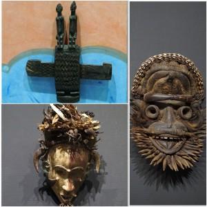 아프리카의 가면들