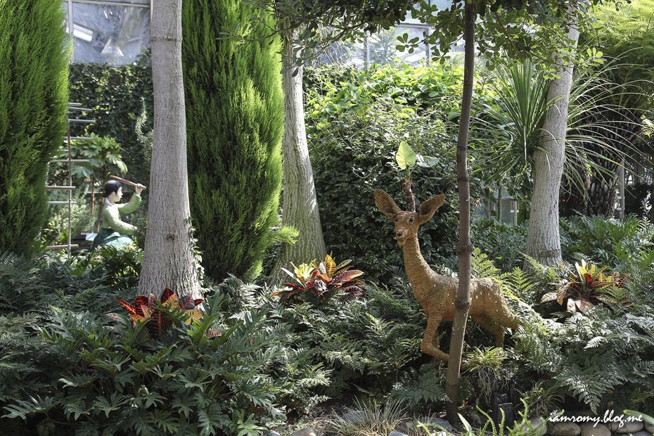 자연테마식물원 내부