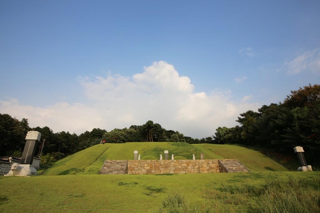 왕릉의 모습