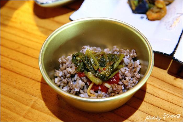 열무보리밥