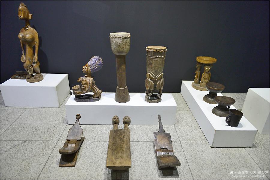아프리카 조각들