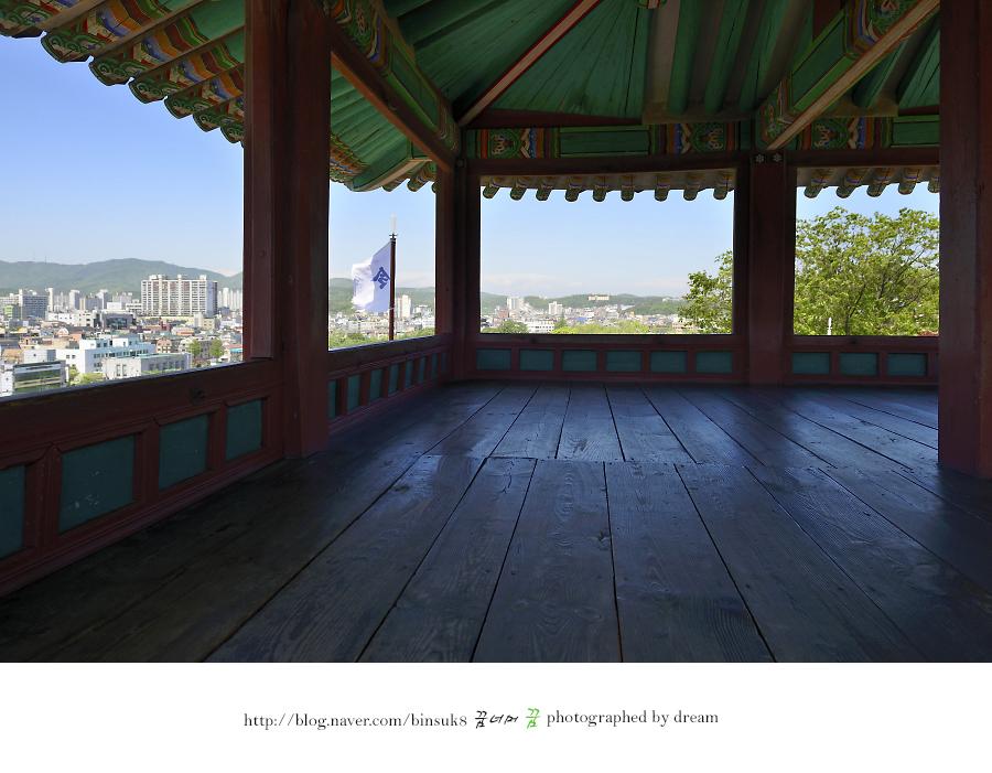 서북각루 내부 사진