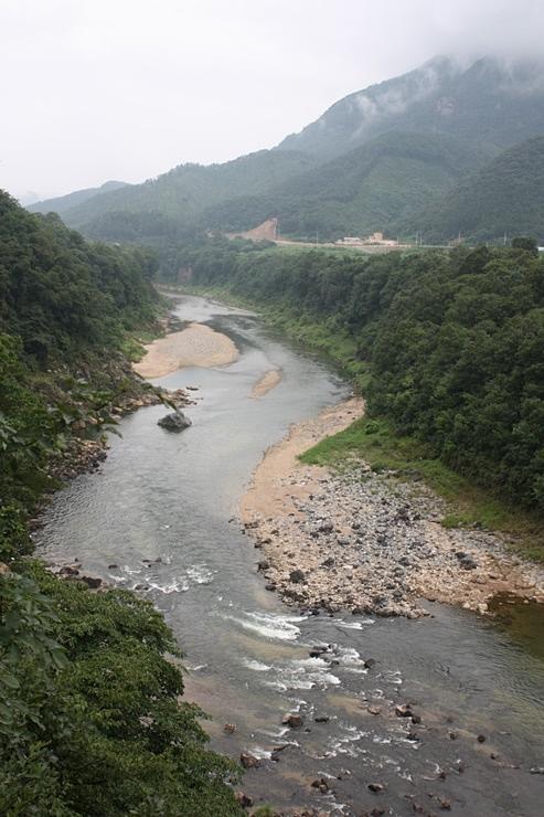 한탄강 전경
