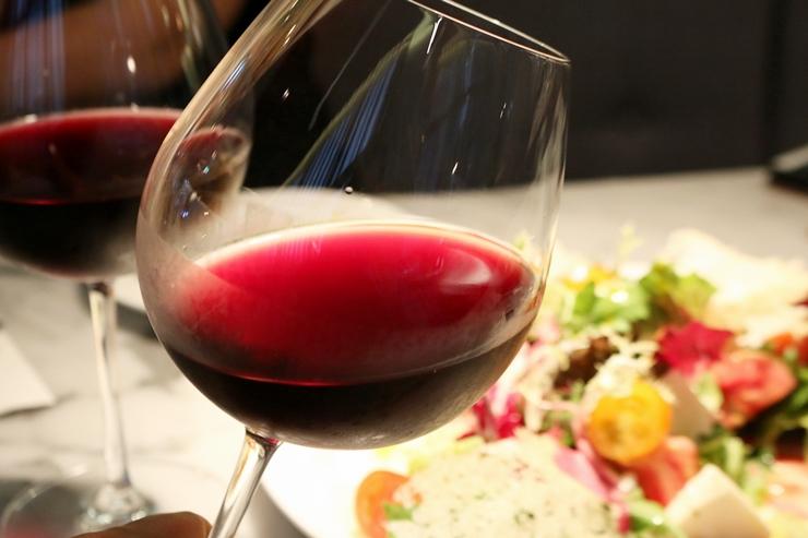 추천해준 와인 한잔