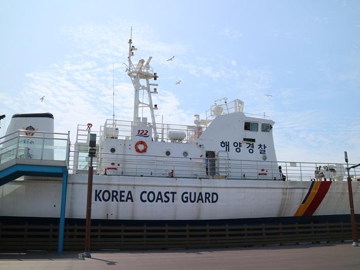 오이도 해양경찰 경비함 262함