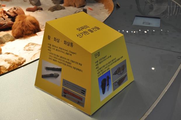 상자 형태로 만들어진 발굴 이야기