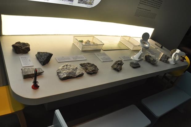 상설전시실의 유물들