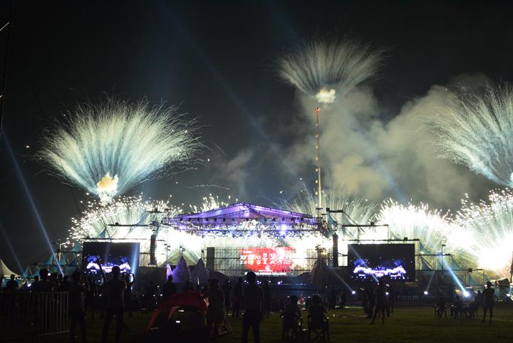 자라섬 불꽃축제