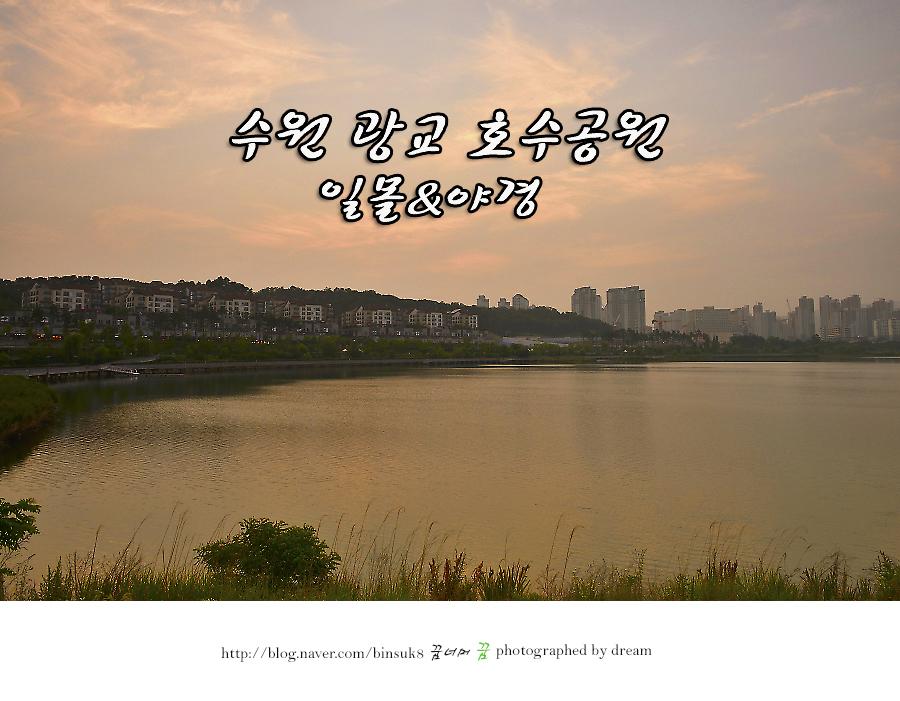 2016.6.13 수원 광교호수공원 일몰 야경