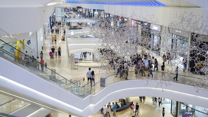 쇼핑하는 사람들