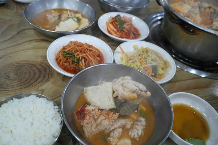 구리 시골식당