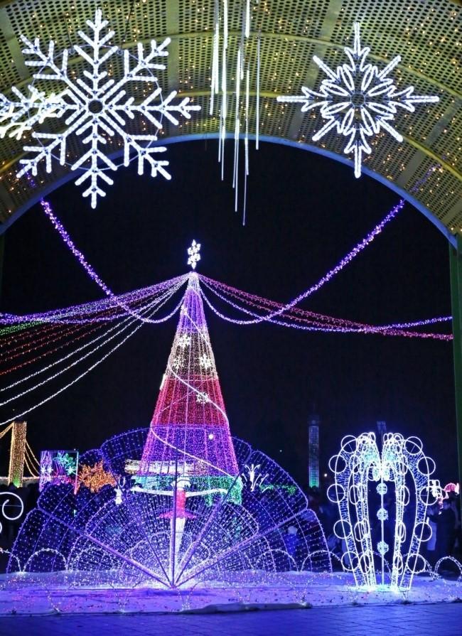 크리스마스 트리조명