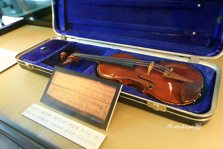 바이올린 근접사진