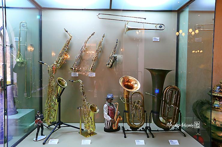 금관악기들
